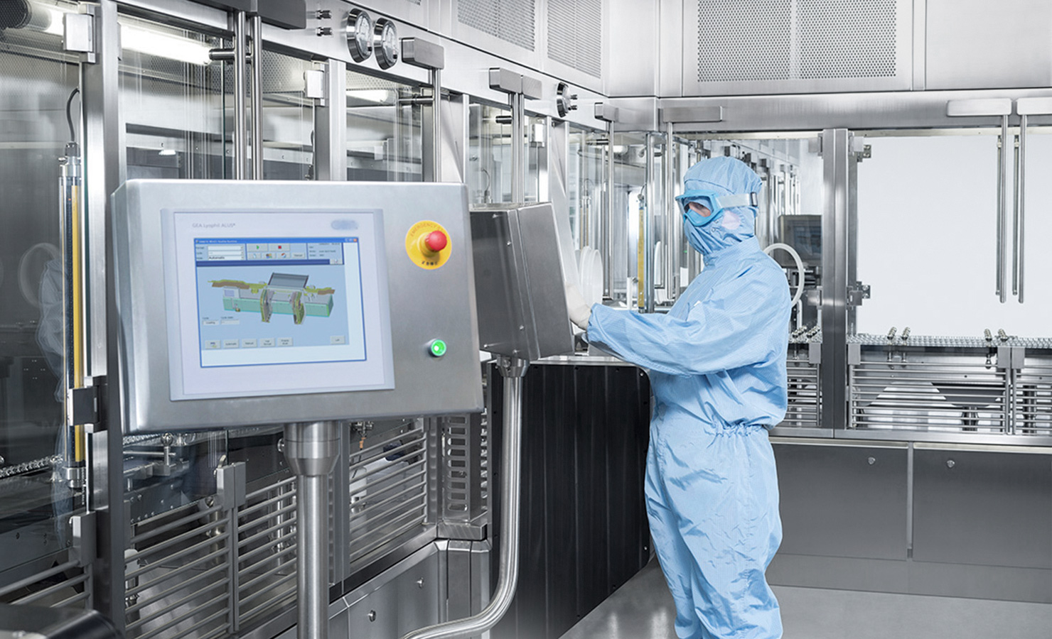 SKAN's RABS is used in cleanrooms and GMP compliant to guarantee the safety of the user