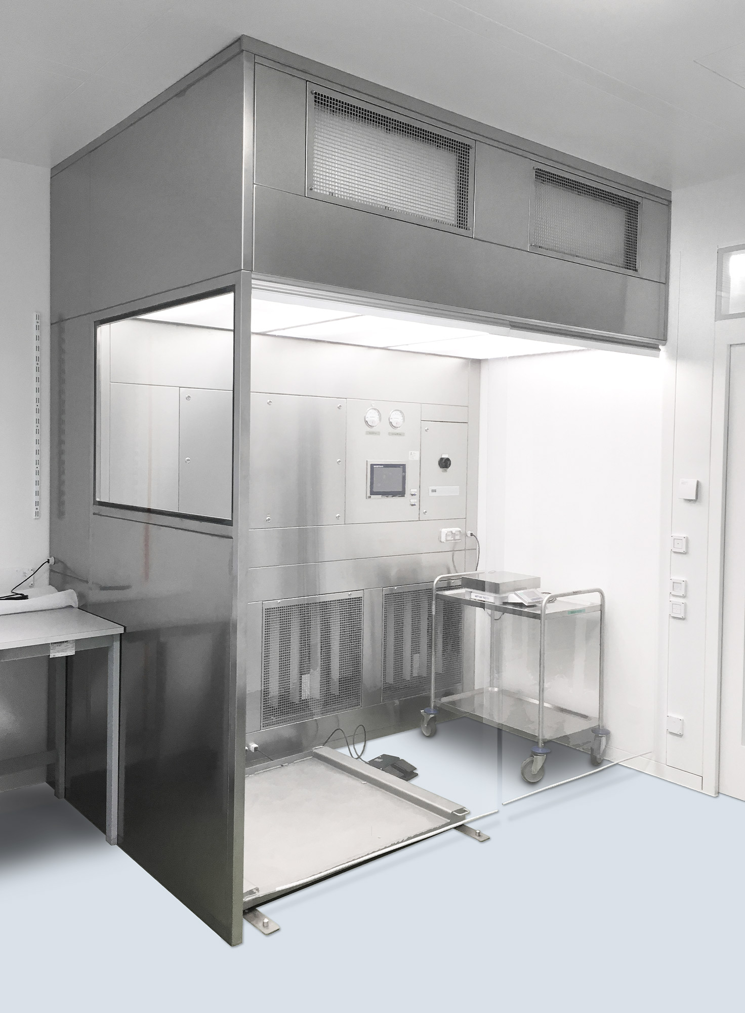 Pure Solution Reinraum Cabinet