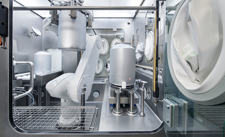 SKAN's integrated processes allow automated decontamination