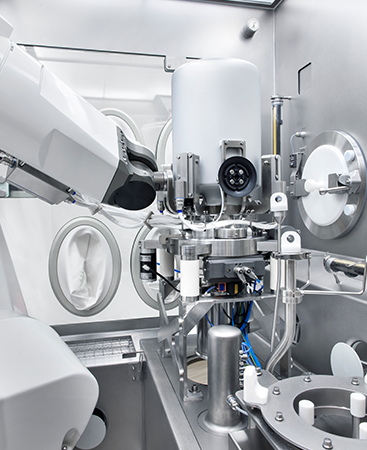 SKAN's integrated processes are a guarantee for aseptic powder transfer