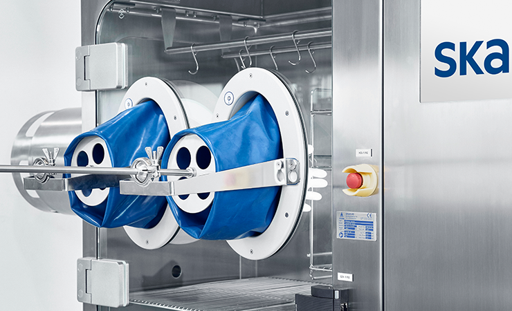 SKAN's MTI is ideal for use in cleanrooms thanks to the unidirectional airflow created
