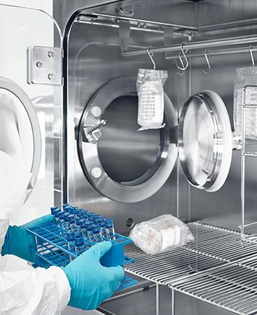 SKAN's MTI allows an accelerated and still safe decontamination cycle for safe aseptic processes