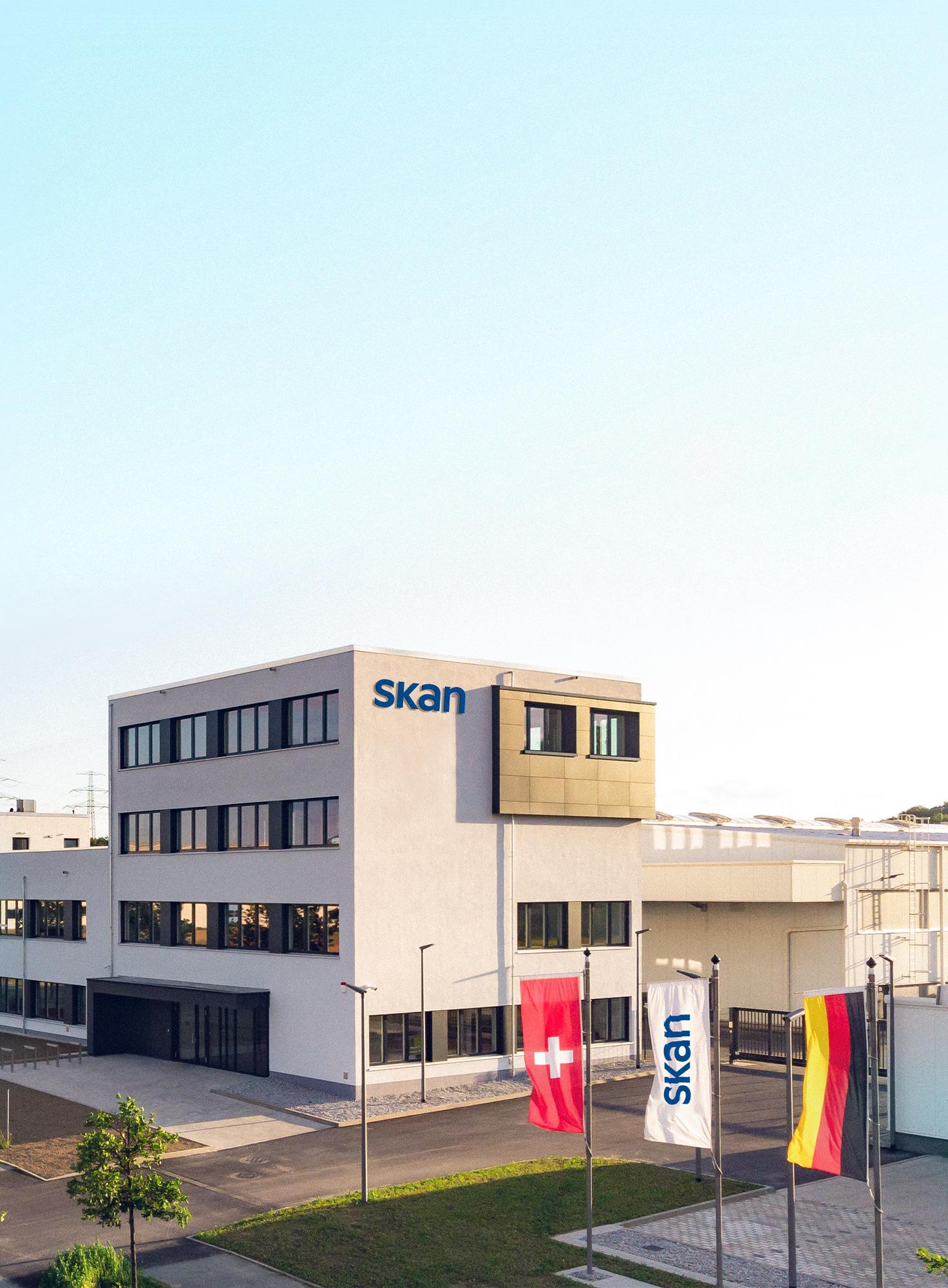 Aussenansicht Firmengebäude SKAN Deutschland